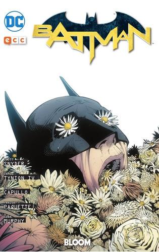 batman bloom libro ecc españa tapa dura