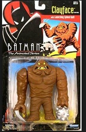 Batman Bruce Timm Cara De Barro Desenho Animado Boneco - R  200 65f5852bec4