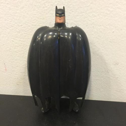 batman c/ asas - roupa preta e branca - boneco retrô usado