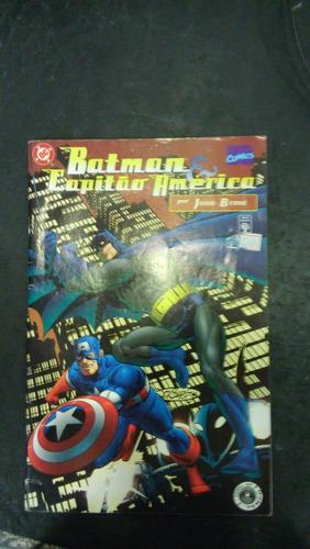 batman & capitão américa