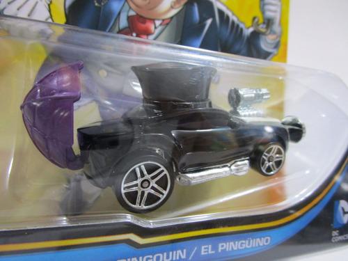 batman carro el pinguino the penguin coleccion hot wheels dc