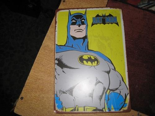batman - chapa pintada - 30 x 20 cm
