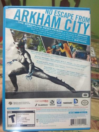 batman city juego wii