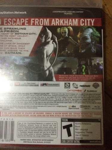 batman city ps3