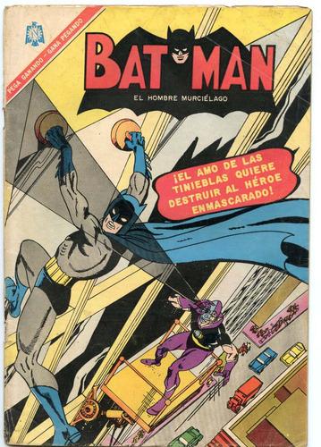 batman contra eclipso nº346 (octubre 1966)  editorial novaro