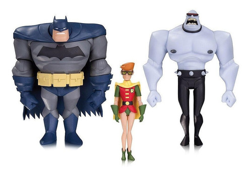 batman dark knight returns legends 3pack robin serie animada