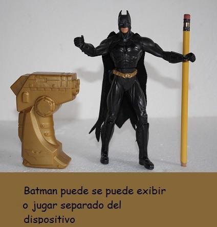 batman dark night 18 cm original como nuevo coleccion mattel