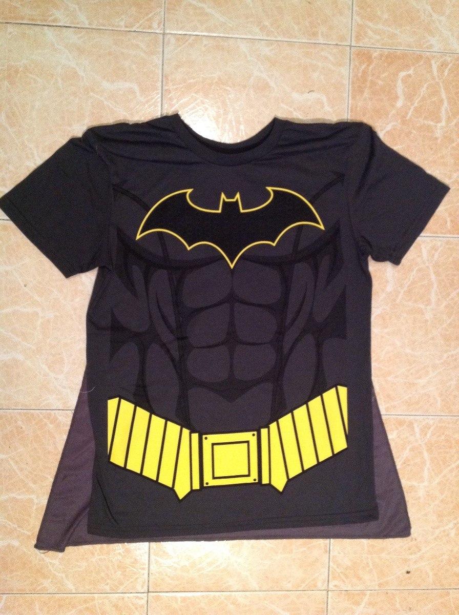 Batman Dc Comics Playera Hombre Talla M Con Capa Jl -   300.00 en ... c1fb7528a213c