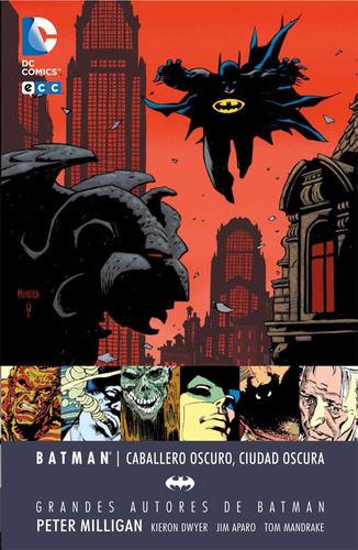 batman de peter milligan: caballero oscuro, ciudad oscura