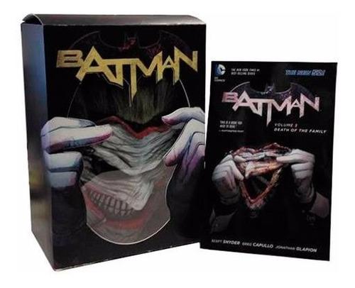 batman death of the family inclui máscara do coringa joker