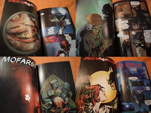 batman death of the family increible!!! dc comics new52 tomo