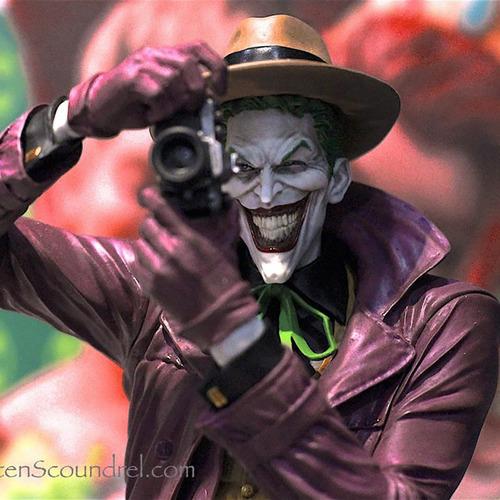 batman designer the killing joke joker estatua - robot negro
