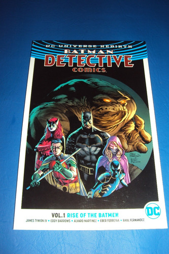 batman detective comics. rise of the batmen. vol 1. dc
