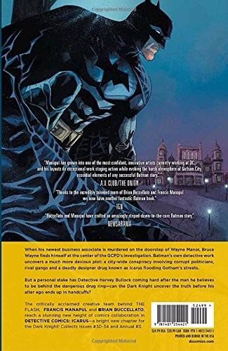 batman: detective comics vol. 6: icarus mayo 25 2015 ingles