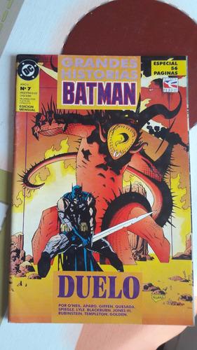 batman - duelo -  o´neil - aparo - giffen