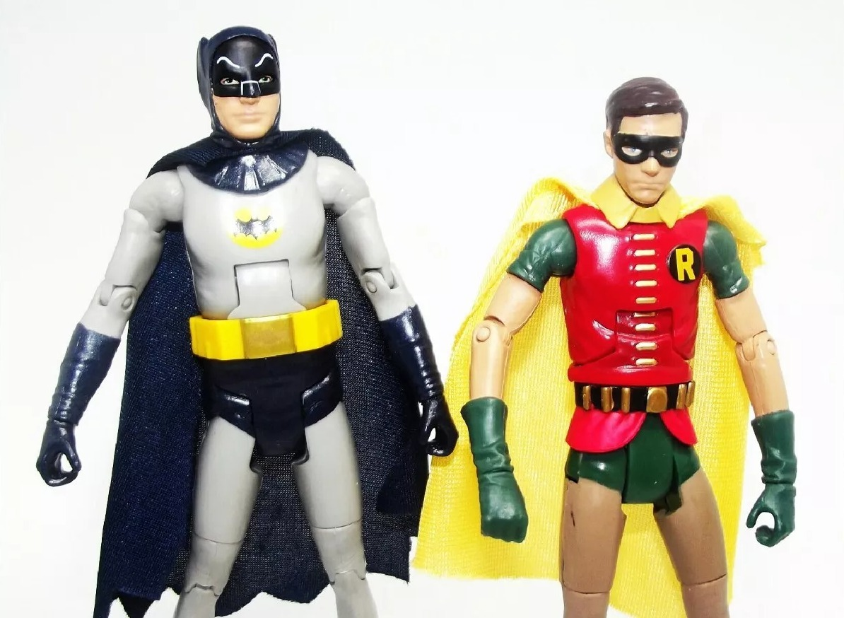 Batman E Robin Tv 1966 Classic Series Adam West Burt Ward - R 200,00 Em Mercado Livre-8378