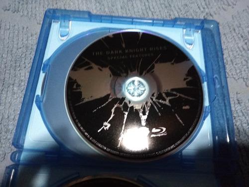 batman el caballero de la noche asciende blu ray + 2 dvd