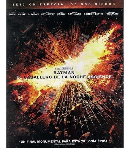 batman: el caballero de la noche asciende - edicion especial