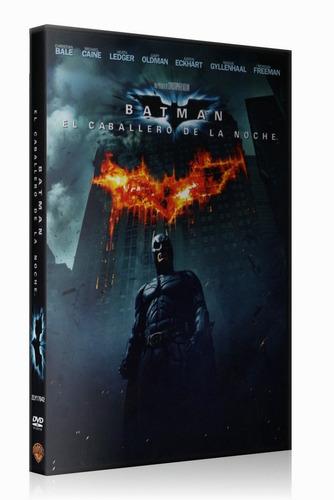 batman el caballero de la noche dvd original region 4