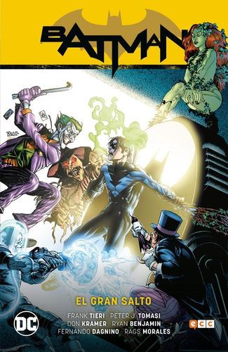 batman el gran salto - dc ecc comics - robot negro