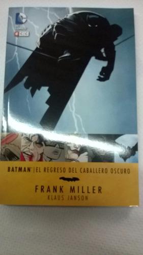batman el regreso del caballero oscuro - frank miller eccsud