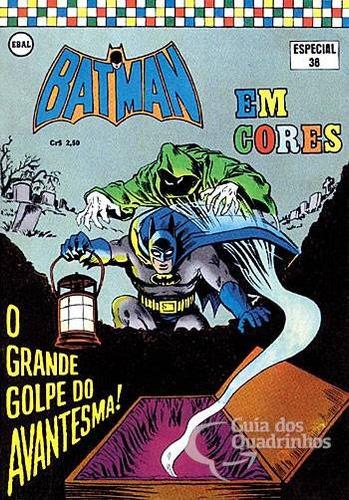 batman (em cores) 1ª série - n° 38 ( o g dc comics