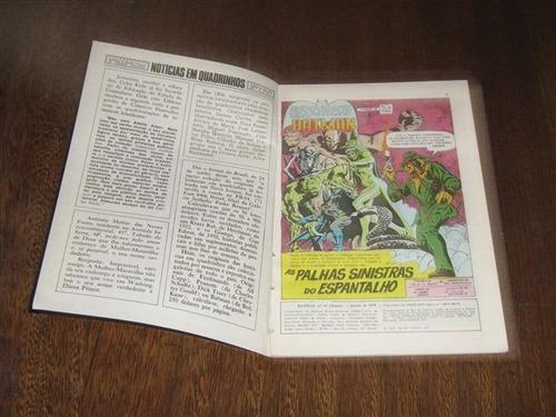 batman em formatinho nº 32 janeiro/1979 editora ebal