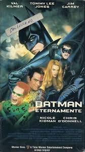 batman eternamente en castellano vhs