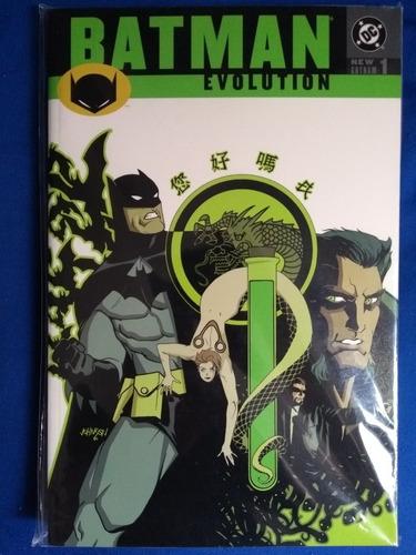 batman evolution tpb comic en inglés