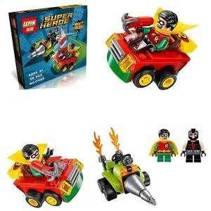 batman flash spiderman hulk mini figuras - fair play toys