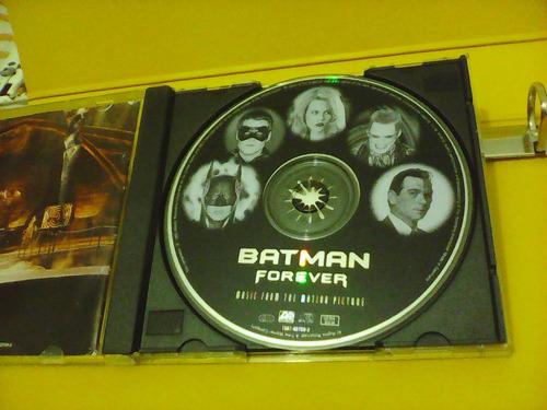 batman forever -  cd