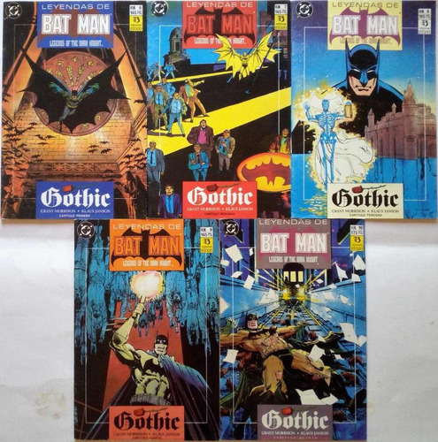batman gothic completo zinco