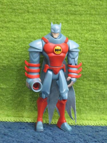 batman  gris y naranja dc comics