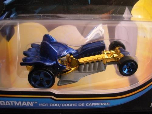 batman hotrod batmobil dc universe hotwheels mattel diecast