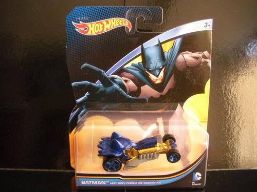 batman hotrod batmobile batimobil dc hotwheels diecast