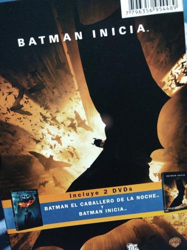 batman inicia y batman el caballero de la noche dvd