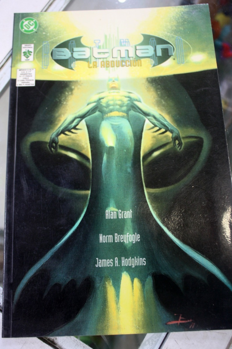 Batman La Abducción Completo Editorial Vid Dc Comics - $ 99.00 en Mercado  Libre