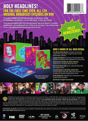 batman la coleccion completa series de tv discos dvd