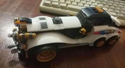 batman lego alterno ataque pinguino auto artico emboscada