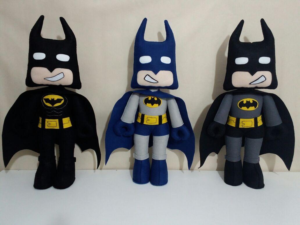 Batman Lego Em Feltro Valor Por Unidade R 70 00 Em Mercado Livre