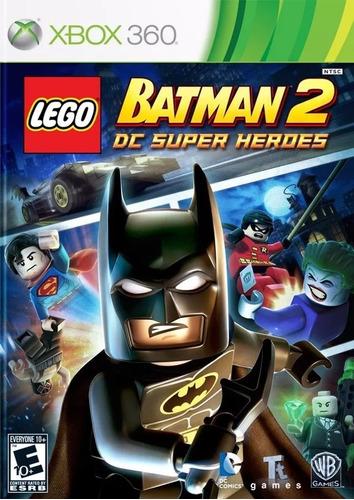 batman lego video juego xbox 360