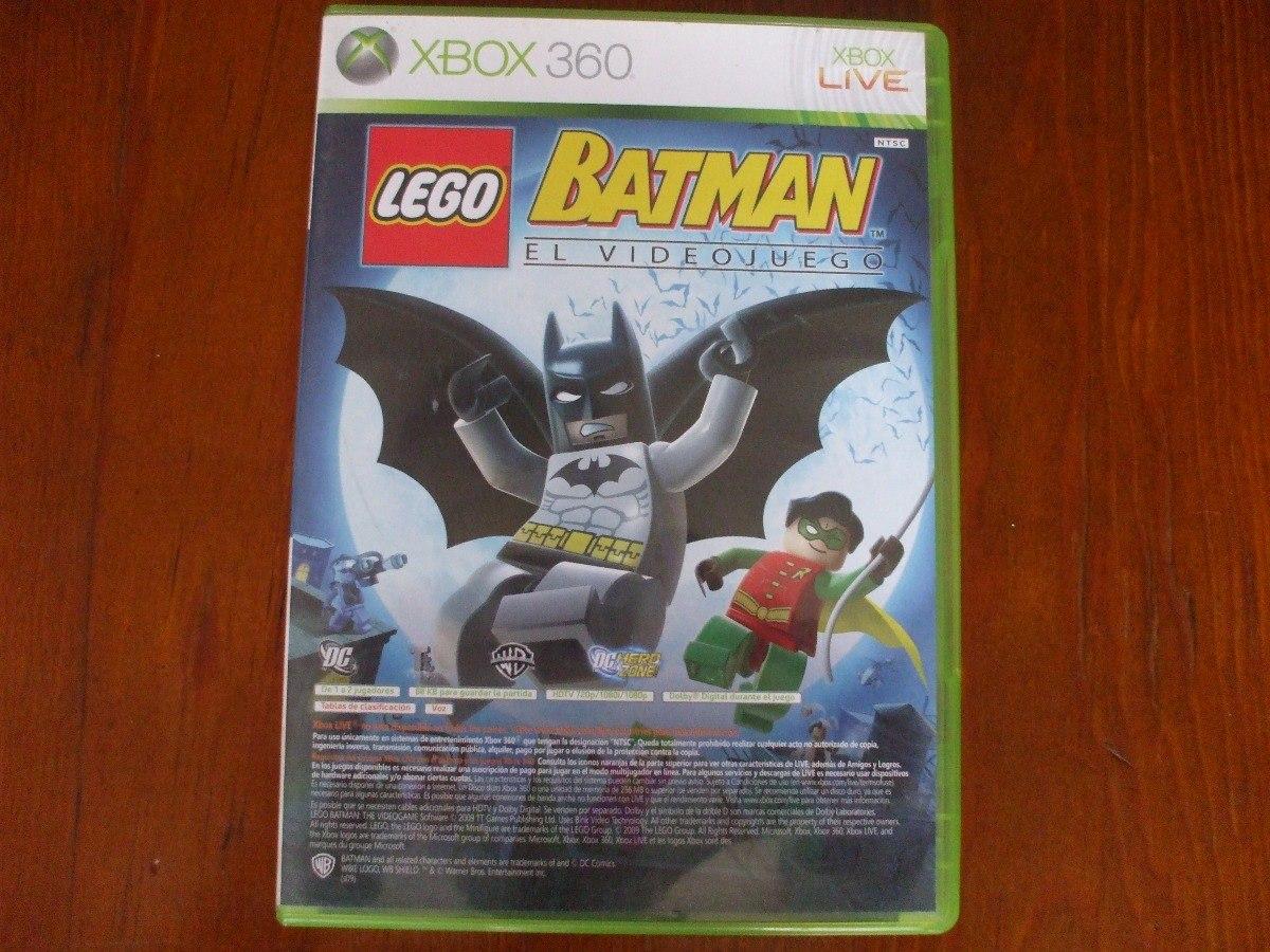 Batman Lego Y Pure Para Xbox 360 350 00 En Mercado Libre