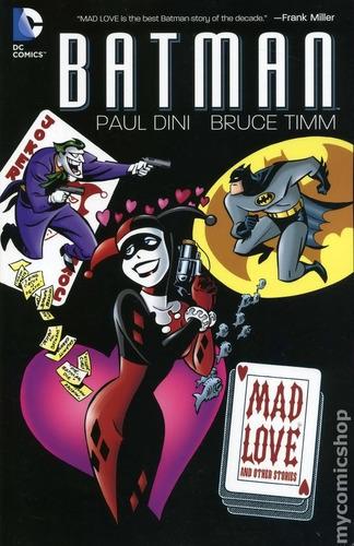 batman mad love & other stories tpb inglés joker harley