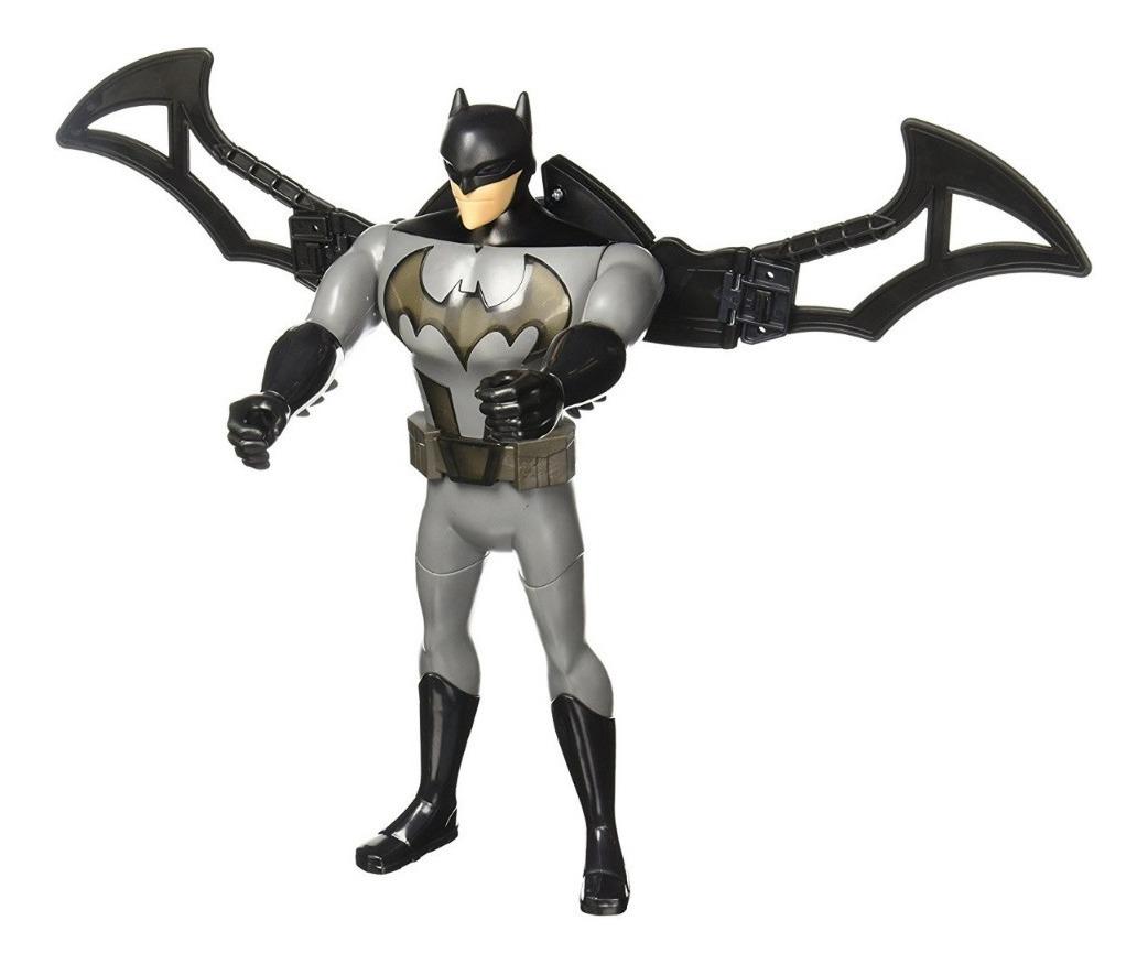 Batman Mision Aerea Alas Luz Sonido Frases Dc Liga Justicia