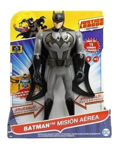 batman mision aerea dc liga justicia  mattel