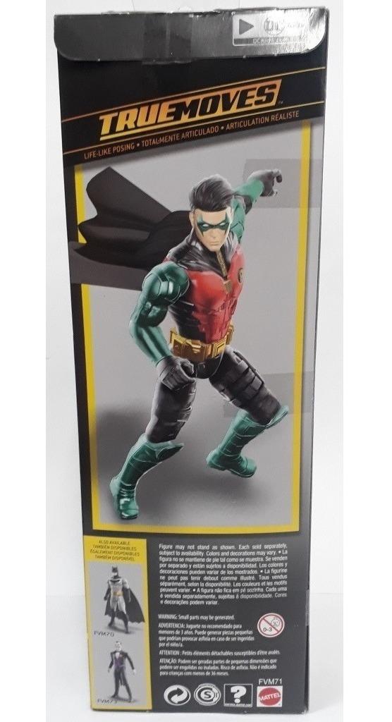 Batman Missions DC Robin Mattel Action Figure