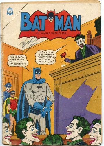 batman nº 240 ( octubre 1964)  editorial novaro