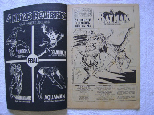 batman nº 93 março 1969 raro e ótimo!