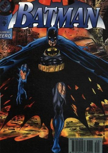 batman - nº zero - edição de colecionado dc comics