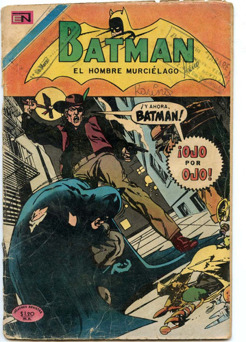 batman  nº558 ( noviembre1970) editorial novaro